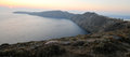 Santorini island caldera, Greece Stock Images