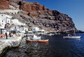Santorini island, Cyclades, Greek Royalty Free Stock Images