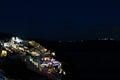 Santorini at night Royalty Free Stock Photo