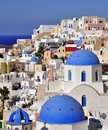 Santorini, Oia village Stock Photography