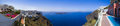 Santorini panorama - Greece Stock Photo
