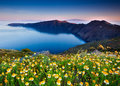 Santorini Spring Royalty Free Stock Photo