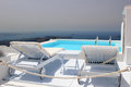 Santorini view - Greece (Firostefani) Royalty Free Stock Image