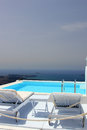 Santorini view - Greece (Firostefani) Royalty Free Stock Photos