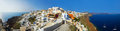 Santorini view (Oia), Greece Royalty Free Stock Photo