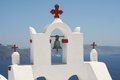 Santorini White Royalty Free Stock Photography