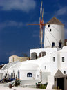 Santorini Windmill Royalty Free Stock Photography