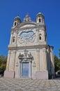 Santuario della Madonna della Costa, San Remo, Italy Royalty Free Stock Photo