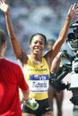 Sanya Richards-Ross Stock Image