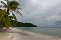 Sao beach phu quok island lonely on in vietnam Royalty Free Stock Image
