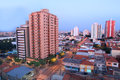 Sao caetano du sol residential buildings in Royalty Free Stock Images