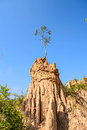 Sao din na noi nan thailand is a soil formation into strange shapes Stock Photography