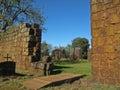 Sao Joao Baptista Ruins Royalty Free Stock Photos
