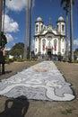Sao Joao del Rey di Sao Francisco de Assis Church Fotografie Stock Libere da Diritti