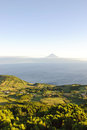 Sao Jorge with Pico, Azores Royalty Free Stock Photo