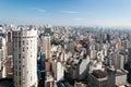 Sao Paulo city Royalty Free Stock Photo