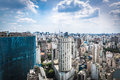 The Sao Paulo city in South America, Brazil Royalty Free Stock Photo