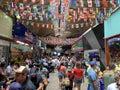 Sao Paulo Municipal Market, `Mercadão` Royalty Free Stock Photo