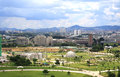 Sao paulo view of villa lobos park in Stock Photography