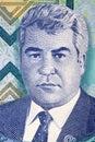 Saparmurat Niyazov portrait Royalty Free Stock Photo