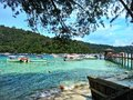 Sapi Island, Sabah Malaysia. Royalty Free Stock Photo