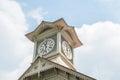 Sapporo city clock tower Royalty Free Stock Photo