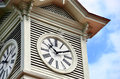 Sapporo clock tower. Royalty Free Stock Photos