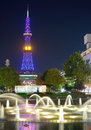 Sapporo Television Tower Stock Photo