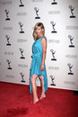 Sarah Joy Brown arrives at the ATAS Daytime Emmy Awards Nominees Reception Royalty Free Stock Images
