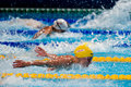 Sarah sjostrom barcelona july sweden in barcelona fina world swimming championships on july in barcelona spain Royalty Free Stock Photos