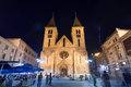 Sarajevo bosnia and herzegovina aug the sacred heart cathedral on august in b h it is the largest cathedral in b h Royalty Free Stock Photos