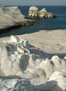 Sarakiniko, Milos, Greece Royalty Free Stock Photos