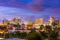 Sarasota, Florida Skyline Royalty Free Stock Photo