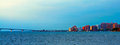Sarasota Skyline and Ringling Causeway Royalty Free Stock Photo