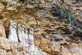 Sarcophagi at Karajia Royalty Free Stock Photo