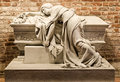 Sarcophagus of Vaclav Svagrovska in Prague Royalty Free Stock Images