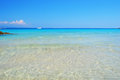 Sardegna beach beautiful bay at north of island italy Royalty Free Stock Image