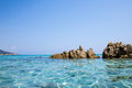 Sardegna sea baia chia on italy Stock Image