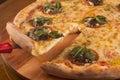 Sardine pizza Royalty Free Stock Photo