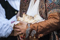 Sardinia ancient and traditional folk od Stock Images