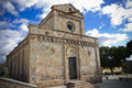 Sardinia cathedral Stockbild