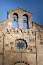Sardinia.Church-fasad Royaltyfria Foton