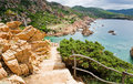 Sardinia, Italy. Costa Paradiso. Royalty Free Stock Photography