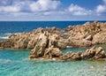 Sardinia, Italy. Costa Paradiso. Stock Photo