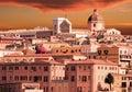 Sardinia, Italy sunset Royalty Free Stock Photo