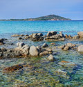 Sardinia. turquoise sea water and beach Royalty Free Stock Photo