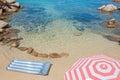 Sardinian sea gallura sardinia italy Stock Photography