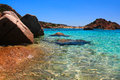 Sardinian sea an image of italian in sardinia Stock Photos
