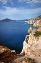 Sardinian sea a image of a part of the western coast of sardinia Royalty Free Stock Photos