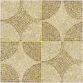 Sardis pattern brown mosaic texture. Royalty Free Stock Image